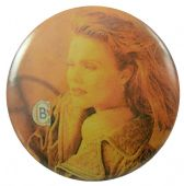 Belinda Carlisle - 'Orange' Button Badge
